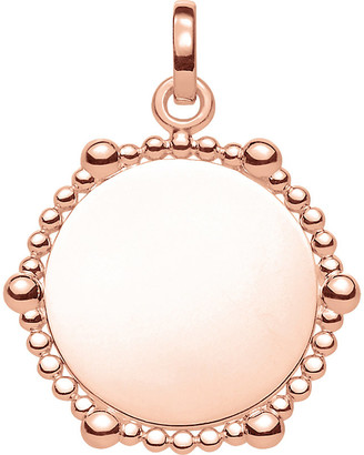 Thomas Sabo Love Bridge Coin Dots 18ct rose gold-plated pendant
