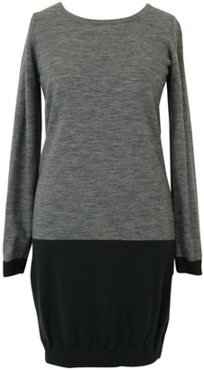 Bruuns Bazaar Grey Wool Dress for Women