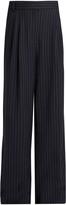 Tibi Delmont striped wide-leg trousers