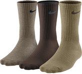 Nike Men's Athletic Performance Lightweight Crew Socks 3-Pack