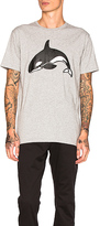 Barney Cools Orca Homie Tee in Gray. - size S (also in )