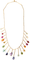Pippa Small Multi-stone & yellow-gold necklace
