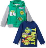 Children's Apparel Network TMNT Hoodie & Tee - Toddler & Boys