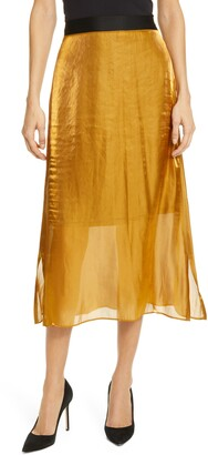 Smythe Diaphanous Midi Skirt