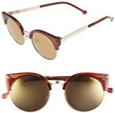 Steve Madden Women&s Round Sunglasses