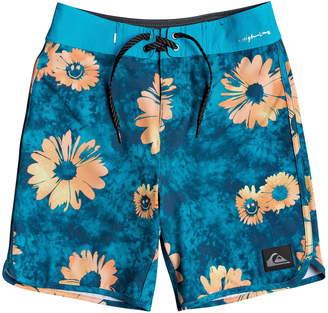 Quiksilver Highline Sprayed Daisy Board Shorts