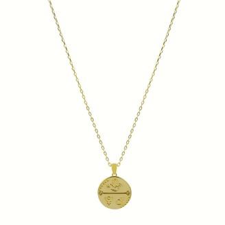 Cvlcha Scorpio Zodiac Necklace - Gold