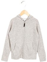 Little Marc Jacobs Girls' Cashmere Zip-Up Sweater