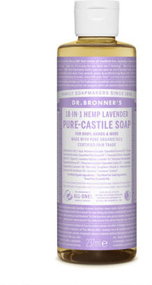 Dr. Bronner's Organic Lavender Castile Liquid Soap 237Ml