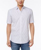 Club Room Men's Sunglasses-Print Cotton Shirt, Created for Macy's