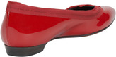 Lanvin Pointed Ballerina Flat, Red