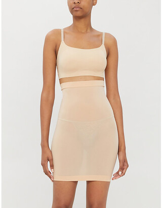 Wolford Individual Nature stretch-forming mini skirt