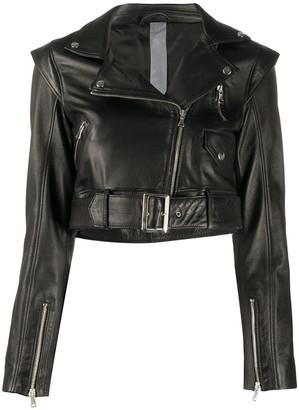OMC Cropped Moto Jacket