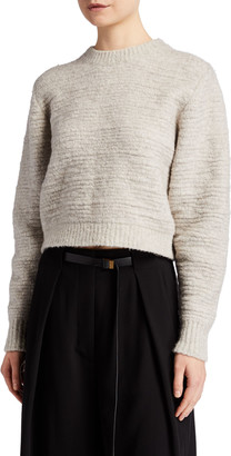 The Row Nuru Fuzzy Cashmere Sweater
