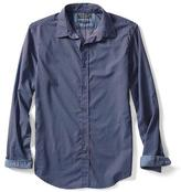 Banana Republic Camden-Fit Custom Wash Abstract Print Shirt