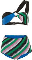 Emilio Pucci One Shoulder Bikini