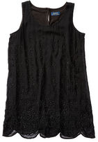 Ralph Lauren 7-16 Beaded Silk Sleeveless Tunic