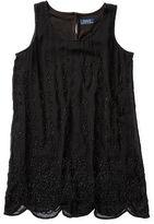 Ralph Lauren Beaded Silk Sleeveless Tunic