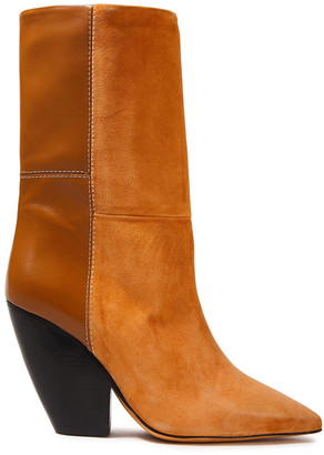 IRO Suede And Leather Boots
