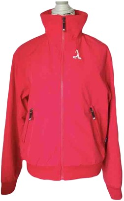 Peak Performance Red Polyester Coats