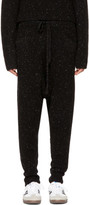 Baja East Black Cashmere Lounge Pants