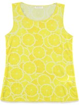Forever 21 Girls Lemon Print Tank (Kids)
