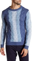 Gant A Spectrum of Blues Long Sleeve Sweater