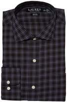 Lauren Ralph Lauren Non-Iron Stretch Poplin Slim Fit Spread Collar Dress Shirt Men's Long Sleeve Button Up