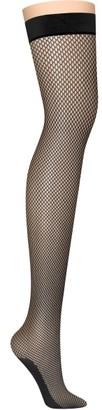 DKNY Fishnet Thigh Highs
