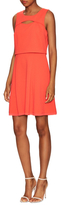 Rachel Roy Faux Two Piece Fit And Flare Dress