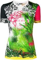 Versace palm print Medusa T-shirt