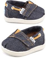 Toms Tiny Denim Bimini Shoe, Navy