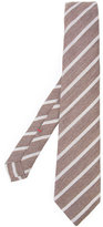 Isaia striped tie - men - Silk - One Size