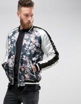 Asos Souvenir Jacket with Floral Print