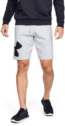 Under Armour Men's UA Rival Fleece Logo Shorts