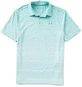 Under Armour Golf Trajectory Stripe Short-Sleeve Polo Shirt