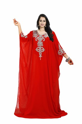 Generic Dubai Middle East Bollywood Style Handmade Designer Kaftan Caftan Farasha Jalabiya Dress Abaya Casual Dress for Party Event Evening wear Beach