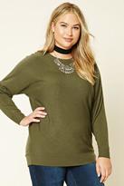 Forever 21 FOREVER 21+ Plus Size Dolman Sweater