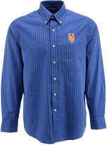 Antigua Men's Long-Sleeve New York Mets Button-Down Shirt