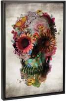 iCanvas Skull #2 (Framed)