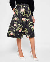 Ted Baker Peach Blossom wrap skirt