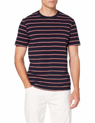 Scotch & Soda Men's Classic Cotton-Elastane Crewneck Tee T-Shirt