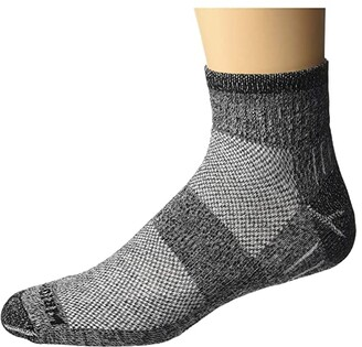 Wrightsock DL Escape Quarter (Black Twist) No Show Socks Shoes