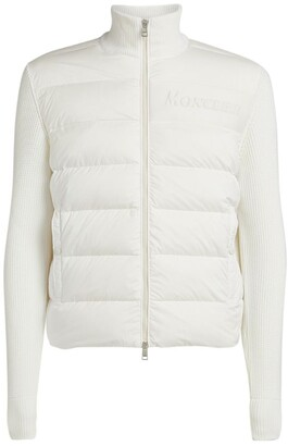Moncler Quilted Zipped Jacket
