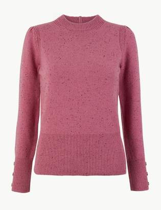 Marks and Spencer Volume Sleeve Jumper