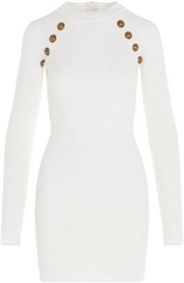 Balmain Embellished Bodycon Dress