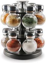 12-Jar Contempo Round Spice Rack Set