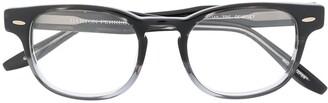 Barton Perreira Gradient Square Frame Eyeglasses