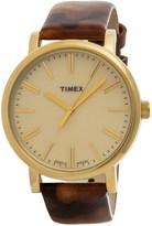 Timex Style Originals Modern Watch - 38mm, Leather Strap (For Women)