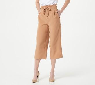 Bishop + Young Petite Paperbag Crop Pants